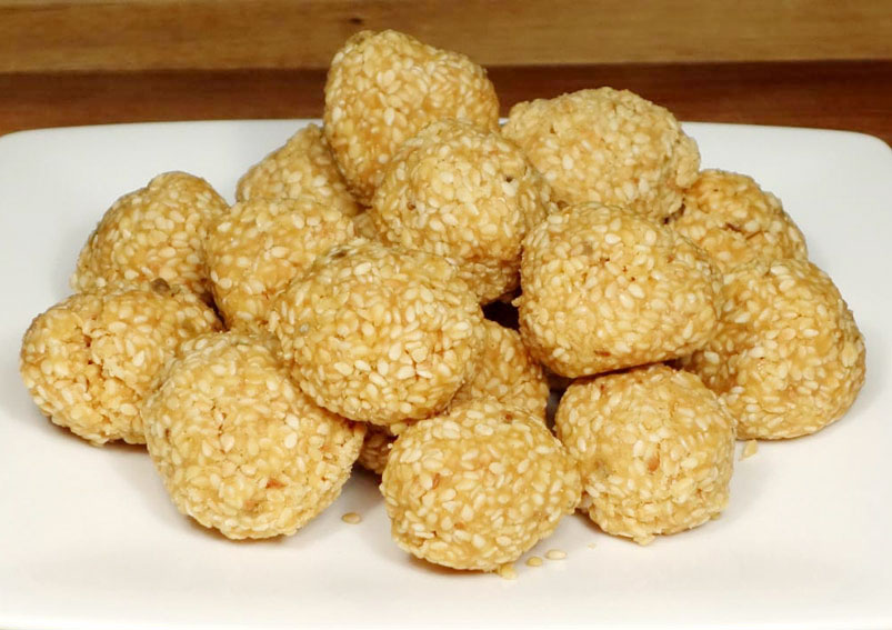 Sesame Til Laddu Recipe