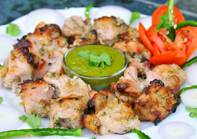 Chicken Malai Spicy Kabab Recipe