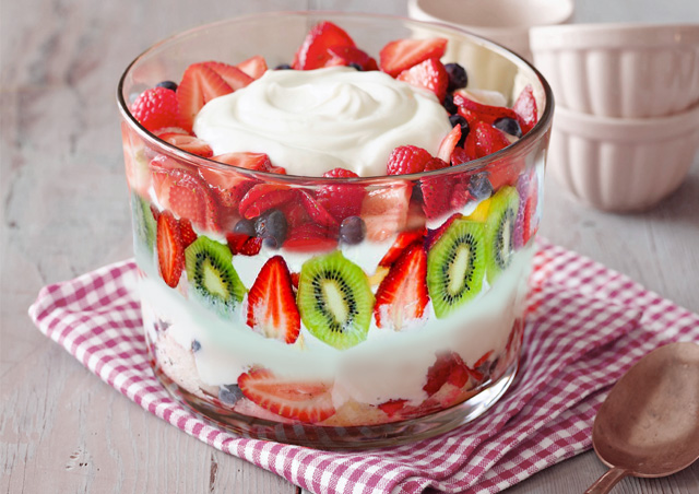 Mixed Fruit Fooding Recipe
