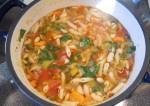 Vegetarian Pasta Soup Recipe   Yummy Food Recipes