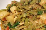 Kerala Style French Beans and Carrot Thoran Recipe