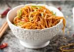 Tangy Capsicum Noodles Recipe
