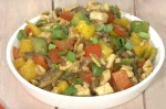 Easy Paneer Mushroom and Cashew Stir Fry Recipe