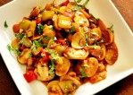 Chinese Chili Mushroom Recipe   Yummy Food Reicpes