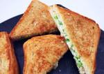 Tasty and Easy Green Pea Sandwich Recipe