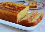 Christmas Special Eggless Orange and Tutti Frutti Loaf Recipe