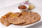 Yummy Green Pea and Cabbage Paratha Recipe