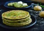Gluten Free Green Pea Paratha Recipe   Yummy food recipes