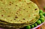 Gluten Free Green Pea Paratha Recipe