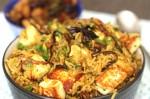 Tasty Mushroom Paneer Pulao Recipe