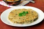 Healthy Oats and Methi Roti Recipe