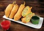 Stuffed Paneer Chili Pakora Recipe