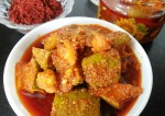 Gujarati Style Raw Mango Pickle Recipe