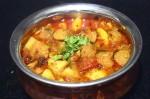 Easy Soya Aloo Curry Recipe