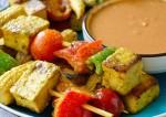 Spicy Vegetable Satay Recipe