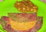 Colorful Tri Color Chapatti